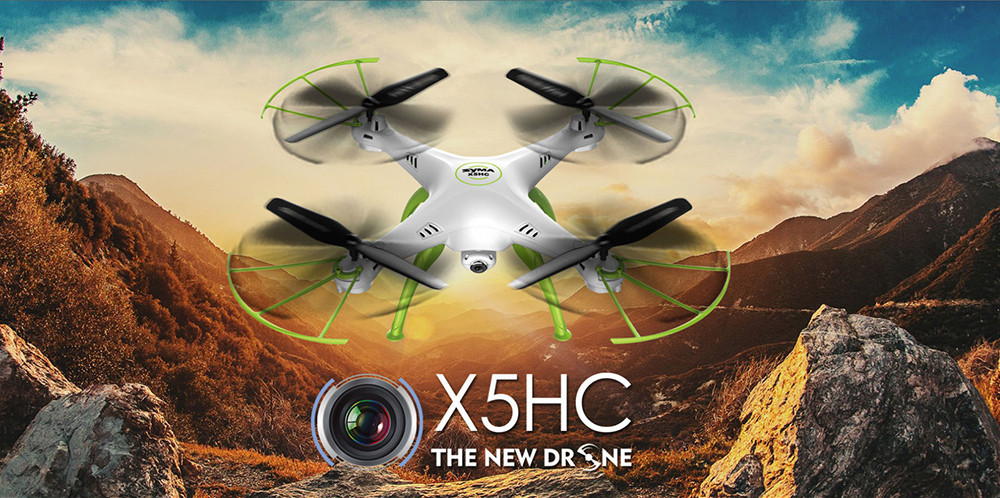 Syma X5HC HD 2MP CAM 2.4GHz 4CH 6 Axis Gyro Quadcopter RTF