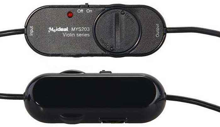 MYS203 Professional MIC Black High Performance Acoustic Pickup for Violin