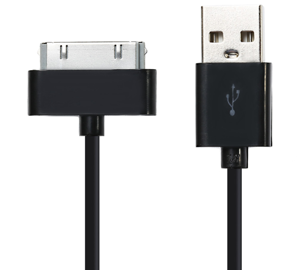 30 Pin USB Sync Data Charging Cable for iPhone 4 / 4S - 1M