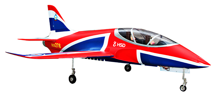 HSD Super Viper 105 12S 105mm Bypass 1500mm Wingspan Fixed-wing PNP Version