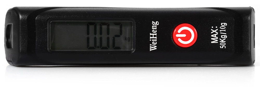WeiHeng WH-A12 Portable Handheld Digital Luggage Scale Measuring Weight Tool