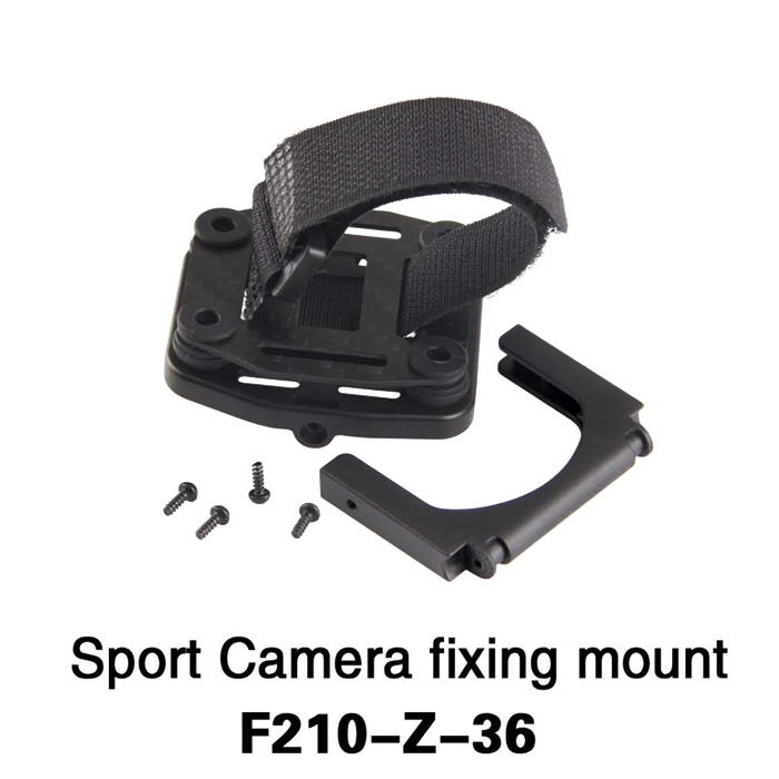 F210 - Z - 36 Adjustable Action Camera Fixing Mount Set Accessory for Walkera F210 RC Drone