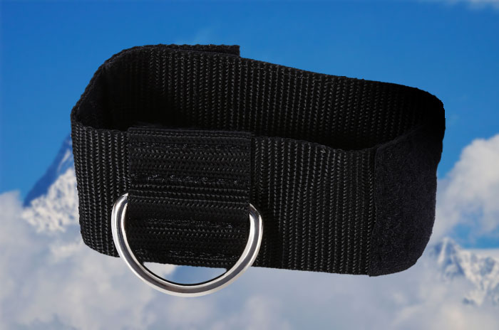 Ankle Resistance Ring with Metal Hasp Exercise Training Equipment