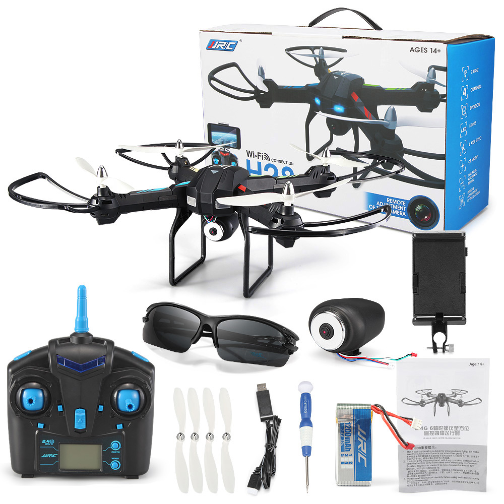 JJRC H28W WiFi FPV 0.3MP CAM 2.4G 4CH 6 Axis Gyro Quadcopter Ready-to-fly