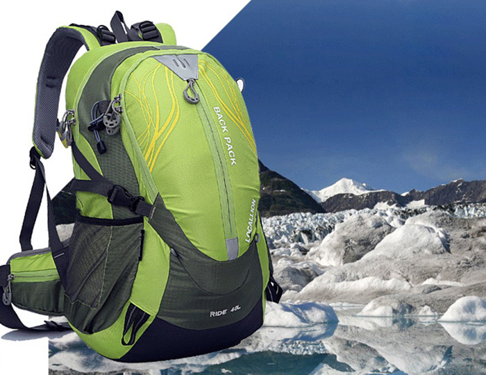 LOCAL LION 40L Nylon Breathable Water Resistant Cycling Backpack for Hiking Trekking