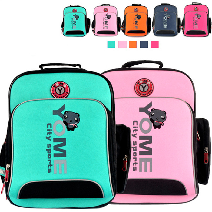 YOME Y270066 Stylish Primary School Student Backpack Stationery Supplies
