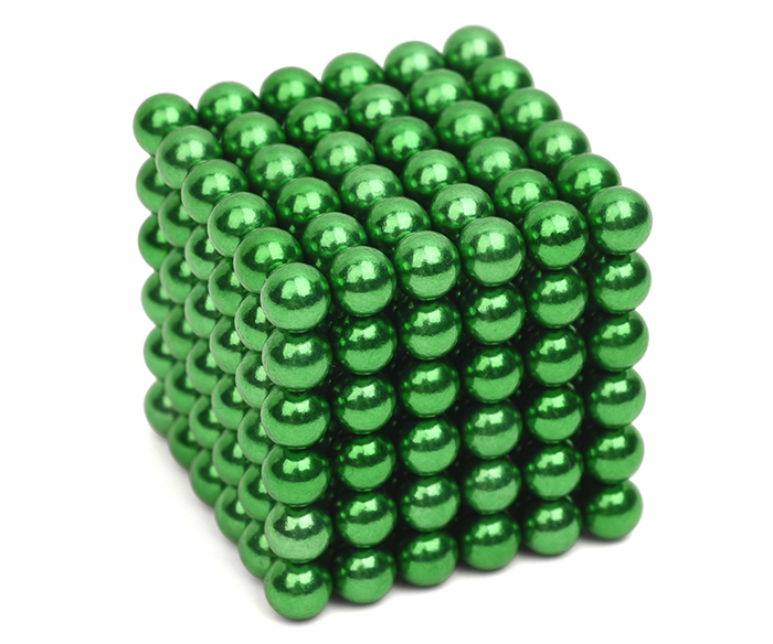 216Pcs Mini 5mm Diameter Magnetic Ball Puzzle NdFeB Novelty Toy