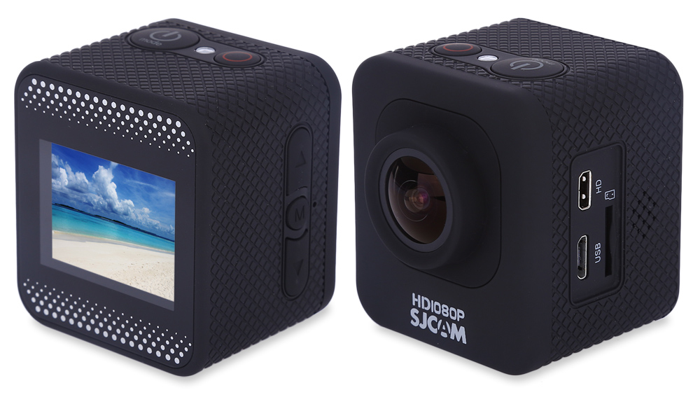 SJCAM M10 1.5 inch Screen 1080P FHD Sports DV Action Camera with Accessories Waterproof Case 170 Degree Wide Angle Lens Support 32GB SD Card