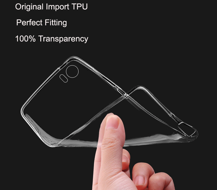 ASLING Transparent TPU Soft Case for Xiaomi 5 Ultra Thin Phone Protector