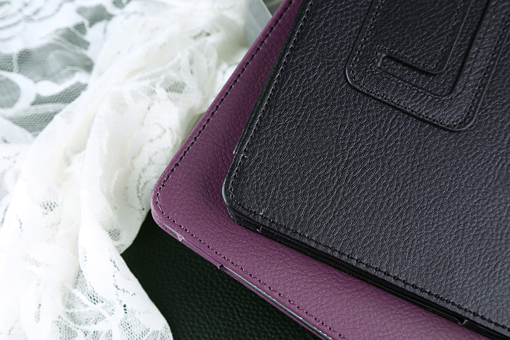 Lychee Lines Leather Material Stand Case for iPad Mini 4