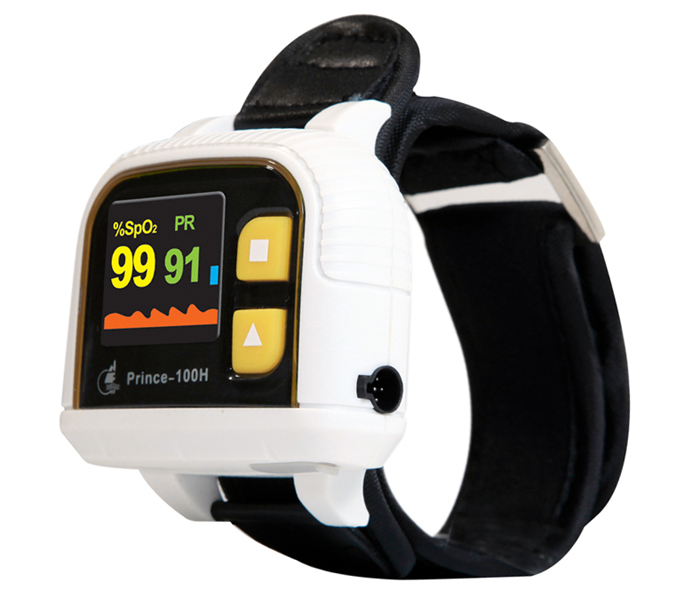 Heal Force Prince-100H-V2 Wrist Type Oximeter Oxygen Monitor Heartbeat Detector