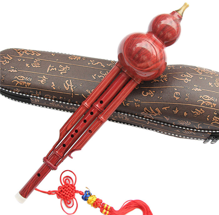 YUYUE YY - 1026 Classical Two-tone Cucurbit Flute Chinese Ethnic Instrument