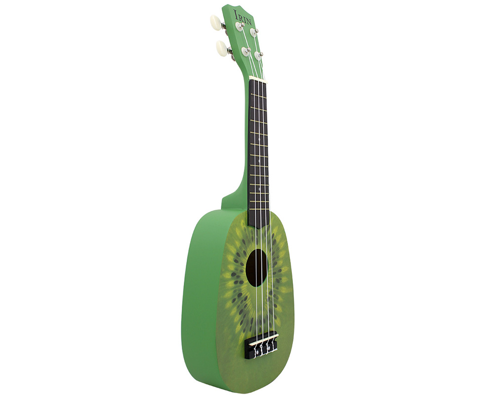 IRIN 21 inch 4 String Hawaii Basswood Ukulele Kiwi Design Musical Instrument