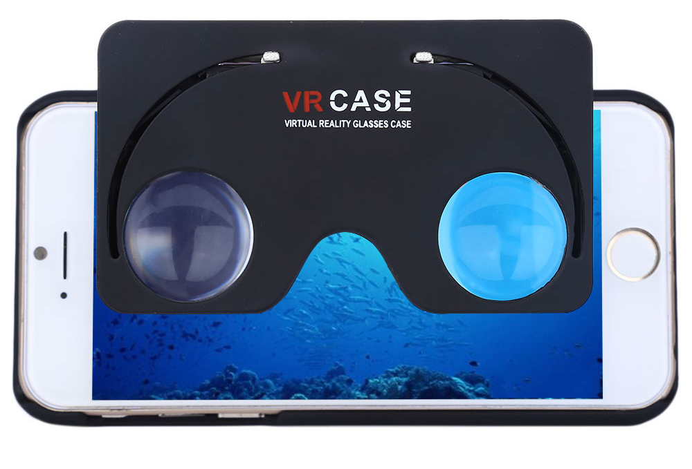 Virtual Reality Glasses Case for iPhone 6 / 6S Stand Function