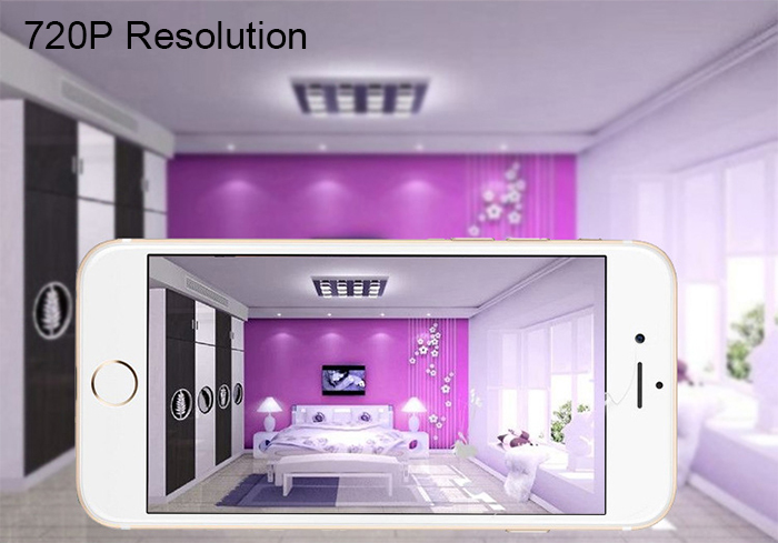 Vetech T14 Home WiFi IP Camera 720P Remote Control Two Way Voice 360 Degrees Rotation