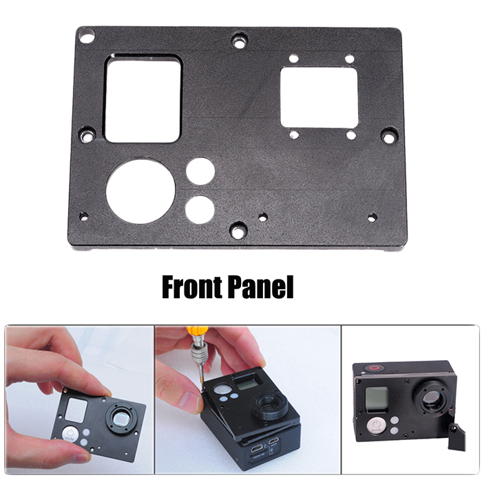 Fat Cat Interchangeable Lens Enhanced System DIY Kit with C / CS Mount for GoPro Hero 3+ / 3 Action Camera