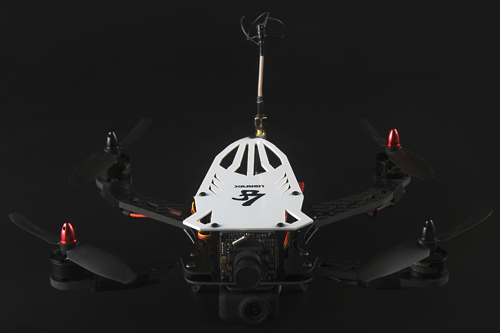 LISAMRC Cicada LS - 250 PCB Carbon Fiber Multicopter Frame Kit Accessory for Multicopter