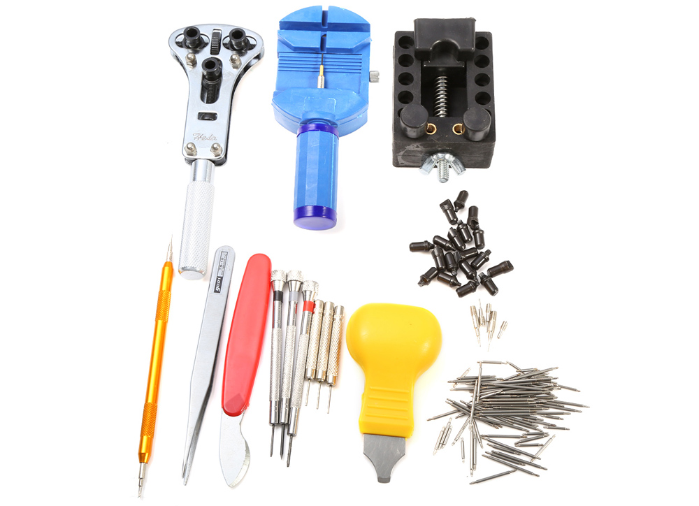 Professional 144 in 1 Wristwatch Tool Kit Watch Repair Tools Set