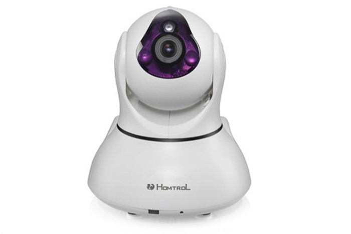 Homtrol HT-SC100E Smart Home WiFi IP Camera 92W Pixels 720P Motion Detection Night Vision