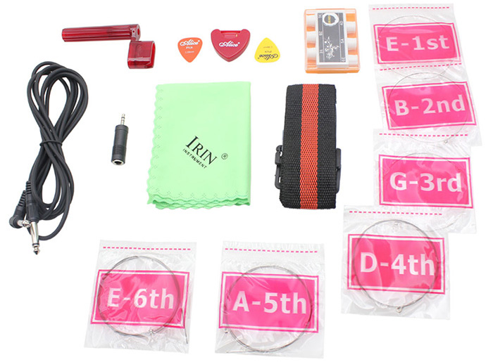 IRIN 9 in 1 Accessory Kit for Electric Guitar