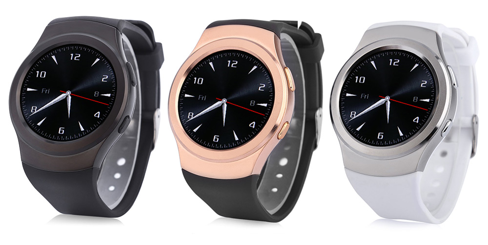 NO.1 G3 1.3 inch Outdoor Smartwatch Phone MTK2502 Heart Rate Sleep Monitor Bluetooth Sync Pedometer Thermometer