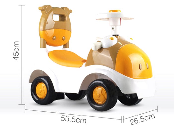 Children Vehicle Design Baby Infant Twisting Riding Car Drift Activity Walker