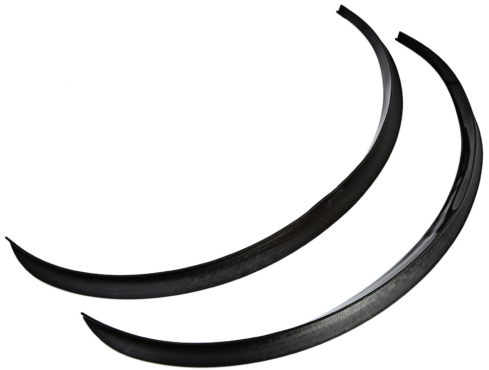 2pcs 72cm Car Stickers Large Round Arc Strips Universal Fender Flares Wheel Eyebrow Sticker