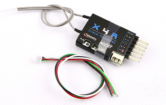 Frsky X4R - SB 2.4G 3 / 16 Channel Receiver with SBUS Port for RC Model