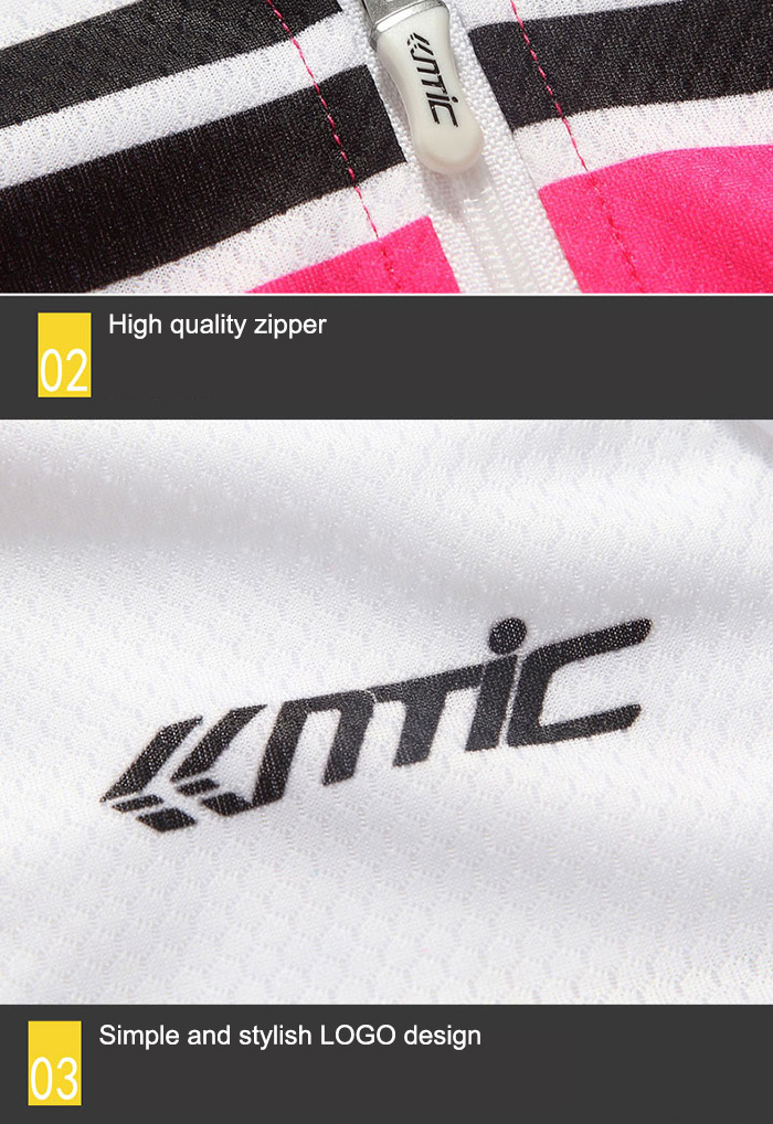 Santic LC02062 Female Summer Cycling Short Sleeve T-Shirt Super Thin Polyester Fiber Made