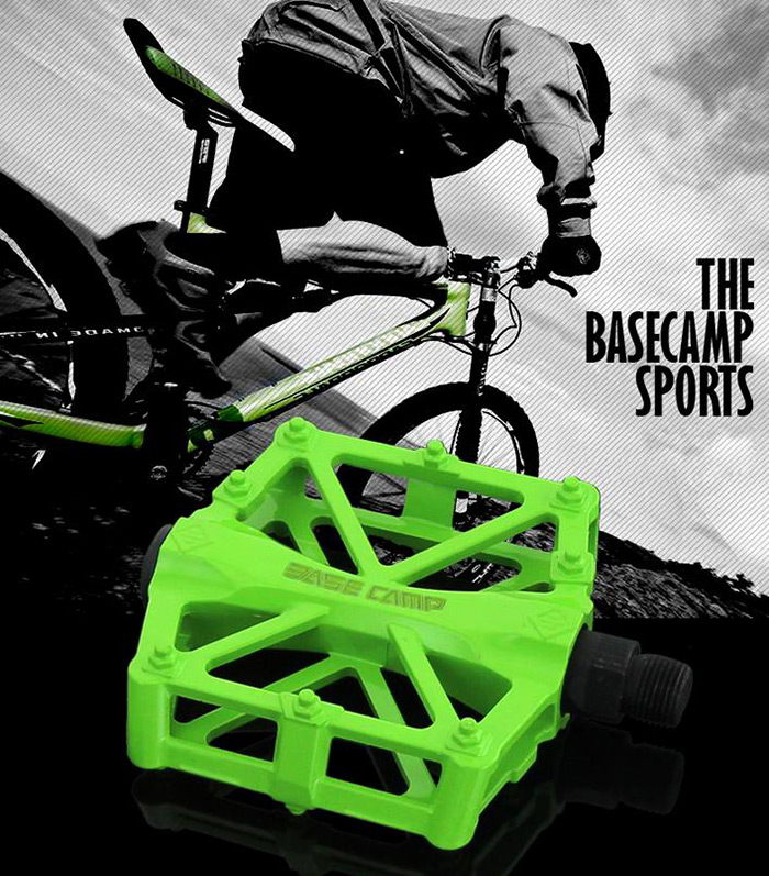 BaseCamp BC-671 1 Pair Ultralight Aluminum Alloy Bicycle Pedals