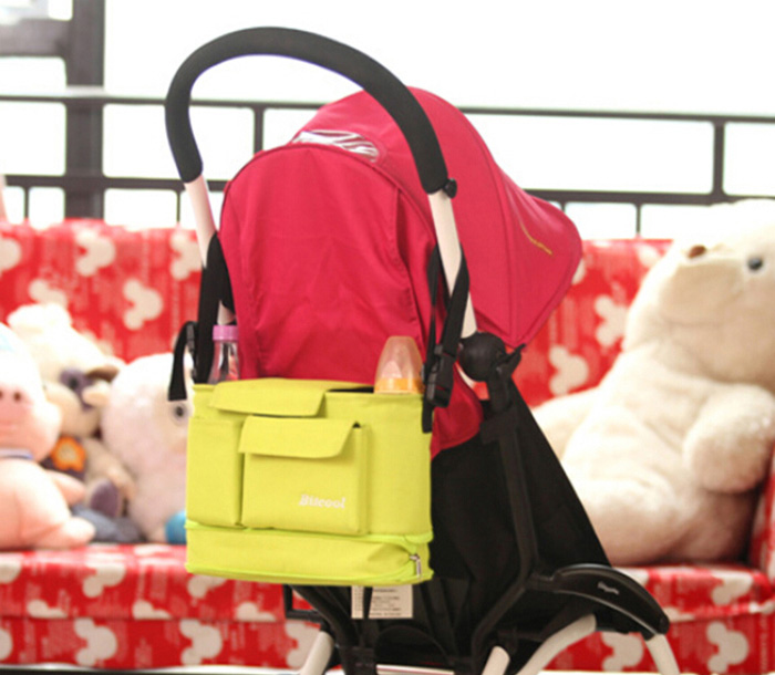 Baby Stroller Mummy Bag Kid Nappy Diaper Organizer Small Gadgets Holder