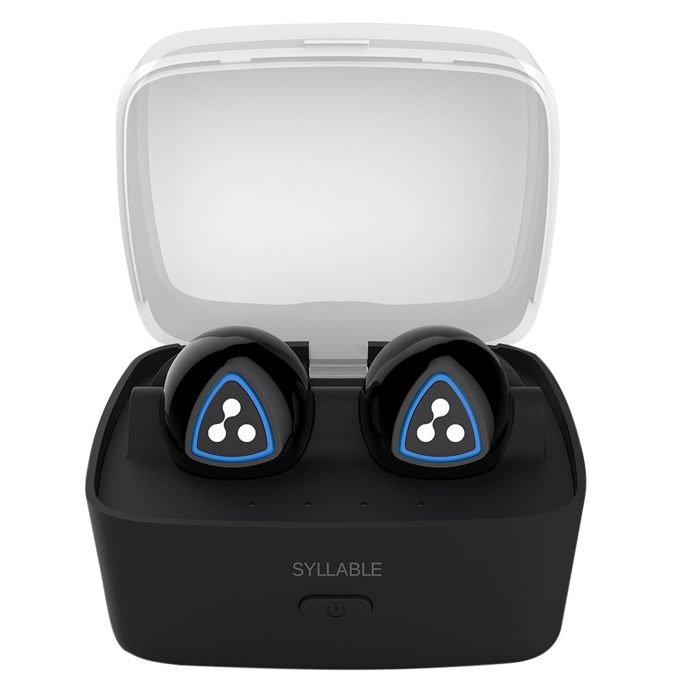 syllable d900s mini wireless bluetooth earbuds in ear. Black Bedroom Furniture Sets. Home Design Ideas