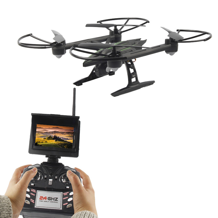 JXD 510G 5.8G FPV 2.0MP Camera 2.4GHz 4CH 6 Axis Gyro RC Quadcopter Barometer Set Height