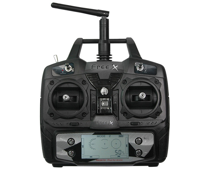 FreeX MCFX - 01 2.4G 7 Channel 6 Axis Gyro Quadcopter Carefree Flight Mode Ready-to-fly