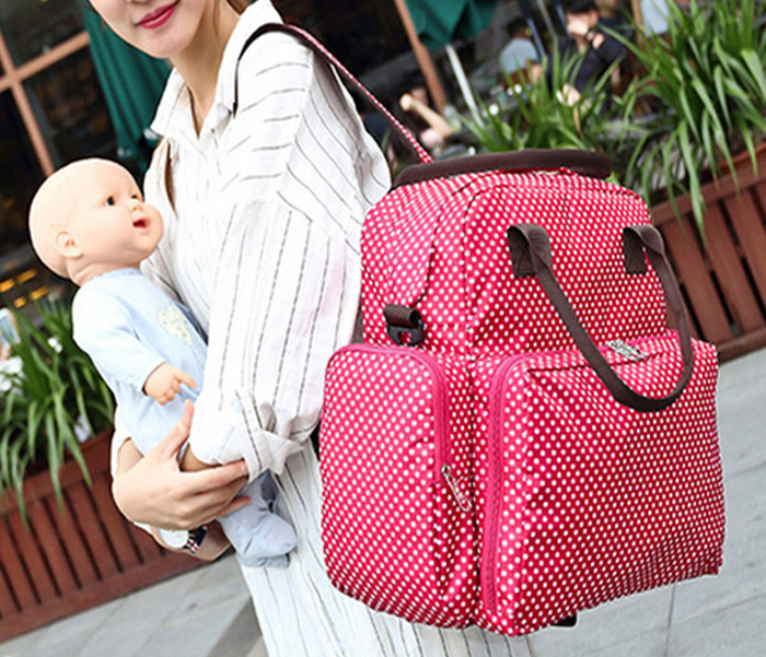Multi-purpose Baby Mummy Bag Nappy Diaper Handbag Storage Container