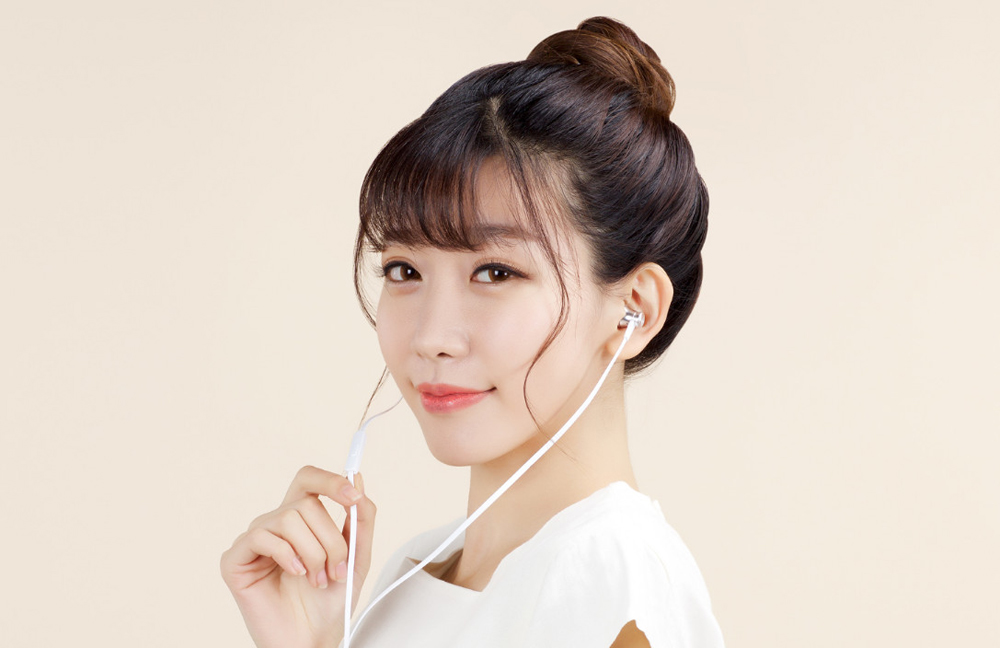 Original Xiaomi Piston Colorful Basic Edition In-ear Earphones with Mic Flat Cable for Cellphone