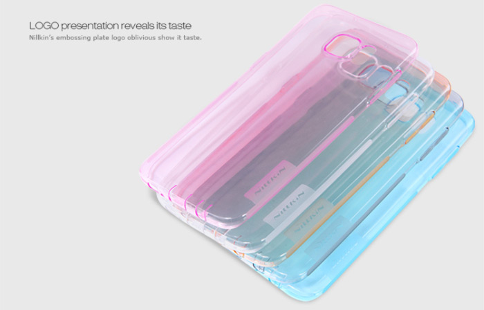 Nillkin TPU Protective Cover Case for Samsung Galaxy S7 Edge Transparent Style Soft Mobile Protector