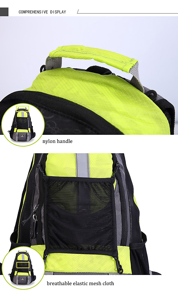 Santic B0006V Unisex 15L Cycling Backpack 3-in-1 Load Bearing System