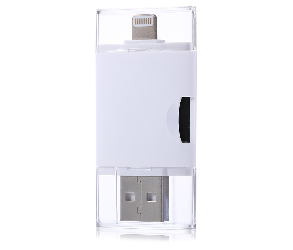 Compact Card Reader 8 Pin to USB Support TF Card