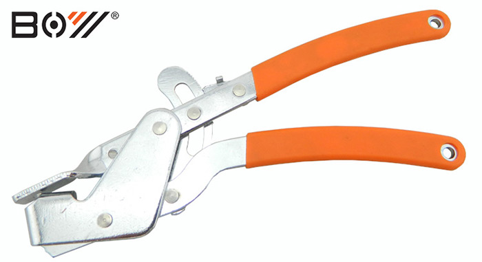 BOY 7027 Bicycle Wire-draw Plier Stainless Steel + Plastic Made