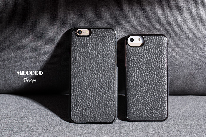 Mecoco Leather Protective Back Case for iPhone 6 / 6S Lichee Pattern Mobile Protector