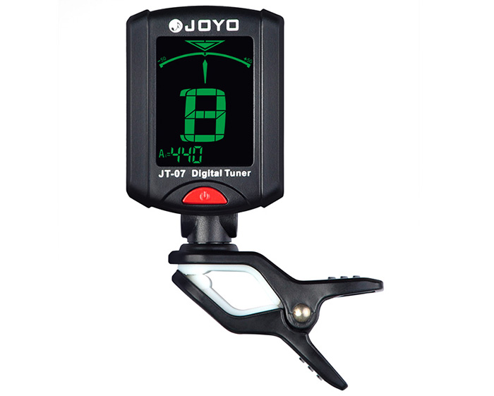 Tuner JOYO JT - 07 Digital Tuner LCD Backlit for Chromatic Bass / Ukulele / Violin