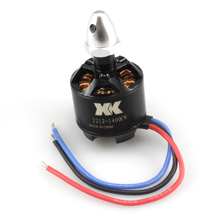 XK X350 2212 1400KV Brushless Counter Clockwise Motor RC Quadcopter Spare Part