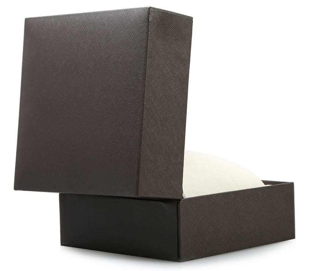 PU Leather Material Watch Case Clamshell-style Jewelry Display Box