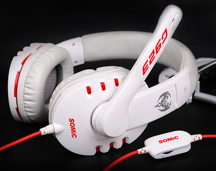 SOMIC G923 Headband Stereo Gaming Headsets for Game Player with Microphone