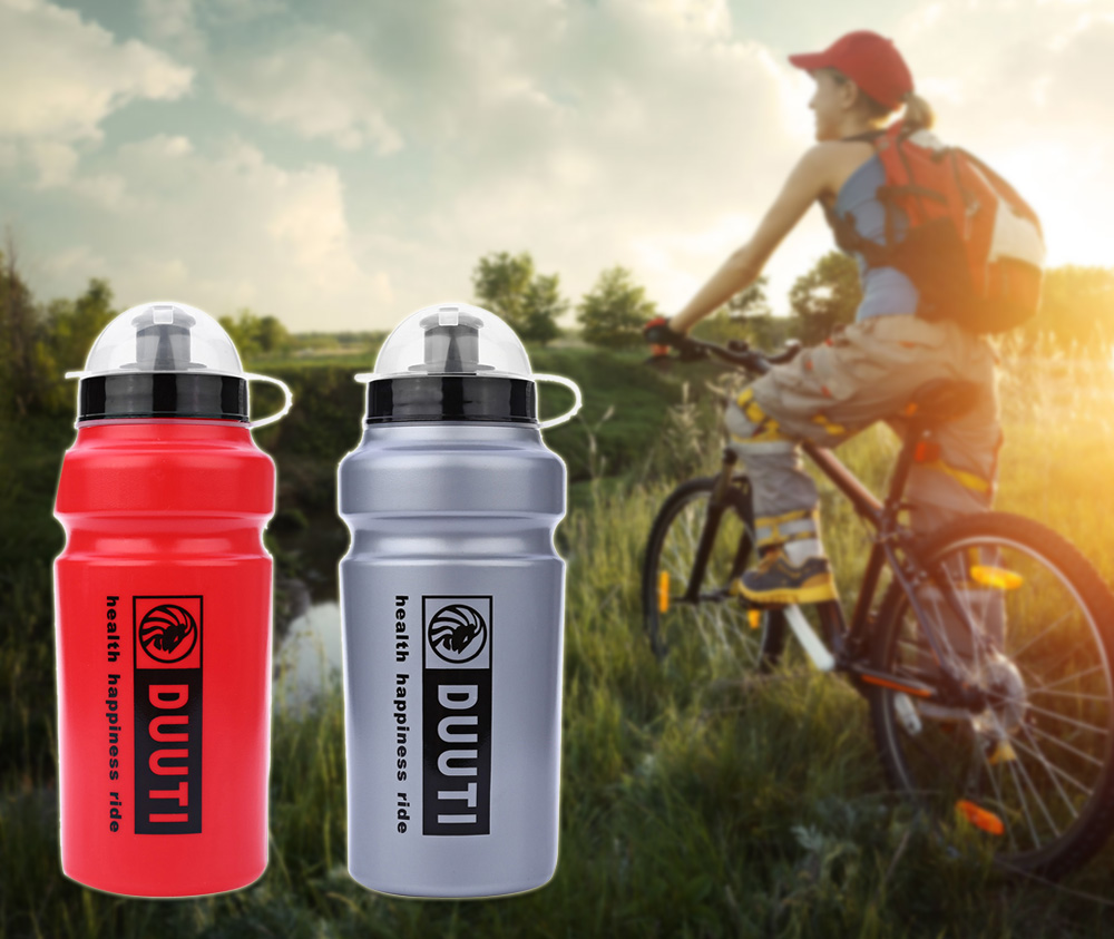 500ml DUUTI Practical Applicable Kettle Sports Water Bottle for Outdoor Mountain Bike Riding