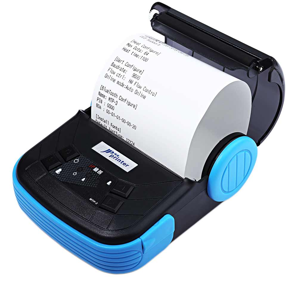 JP MTP - 3 Portable 80mm Bluetooth 2.0 Android Thermal POS Printer