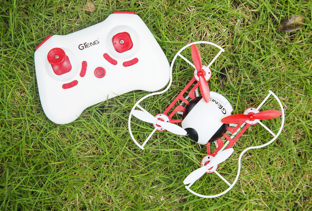 GTeng T902C Mini 720P CAM 2.4GHz 4 Channel 6 Axis Gyro Quadcopter 3D Rollover