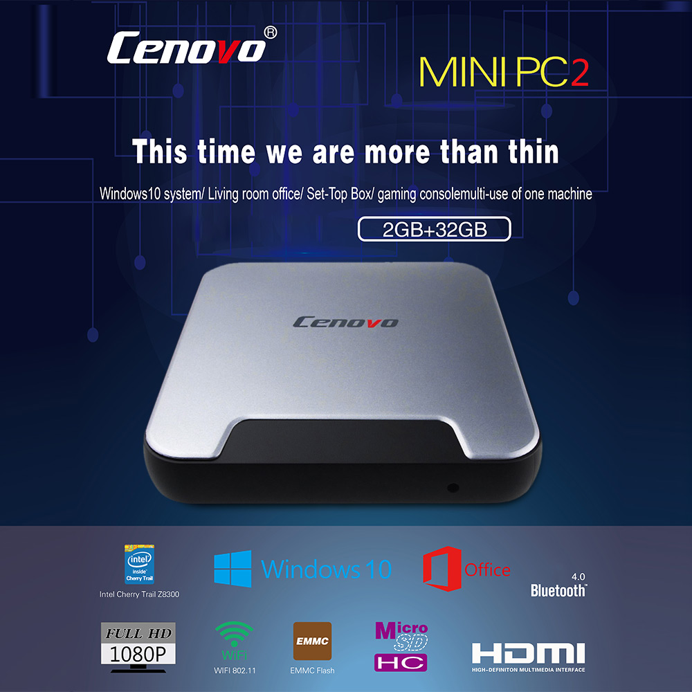 Cenovo Mini PC 2 TV Box HD Online Player