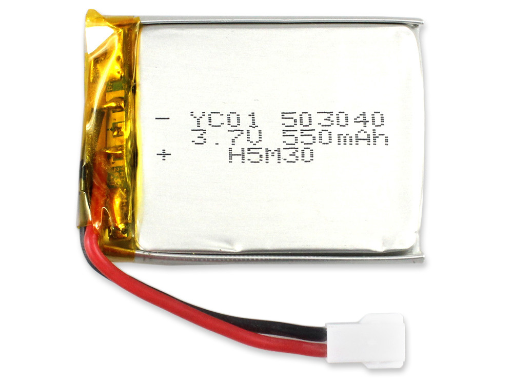 JJRC Original 3.7V 550mAh Transmitter Battery Accessory for H25 H25G H25C H25W RC Drone